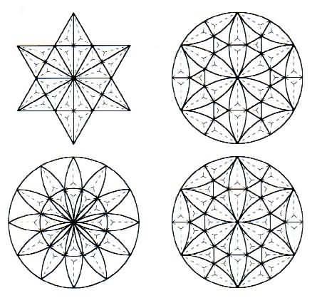 Dibujos con figuras geometricas dificiles - Imagui